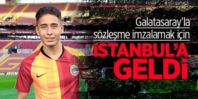 Emro Mor imza için İstanbul'da