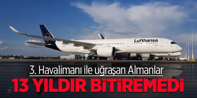 Almanlar Berlin havalimanı inşaatını bitiremedi! Türkiye bitirdi