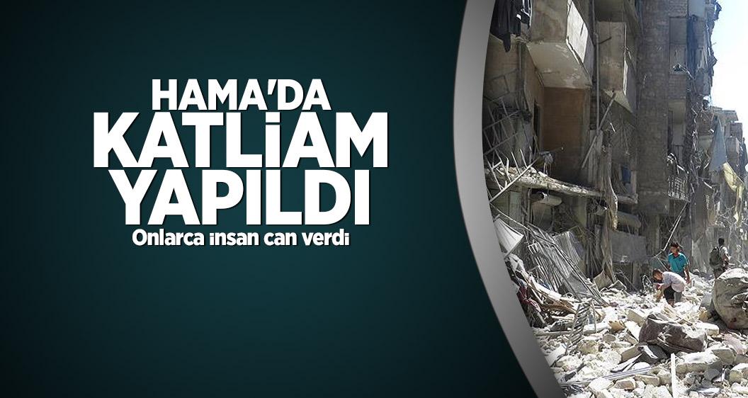 Hama'da katliam yapıldı: 50 ölü