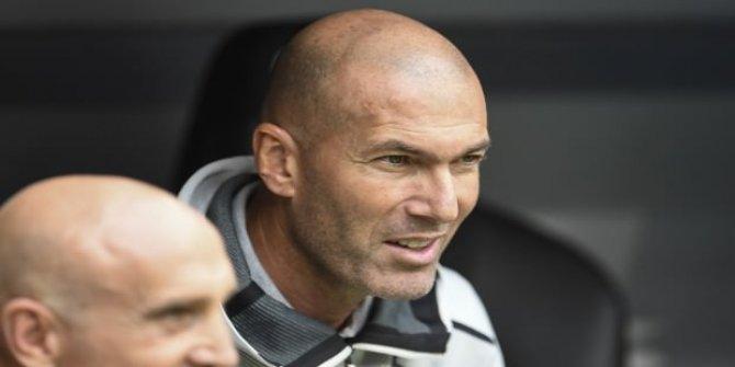 Zidane'dan Fenerbahçe maçı sonrası açıkla