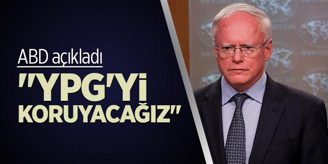 """ABD açıkladı! """"YPG'yi koruyacağız"""""""