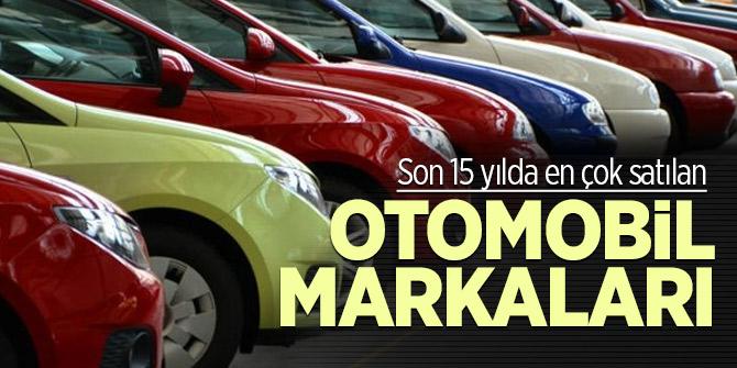 Son 15 yılda Türkiye'de en çok satılan otomobil markaları