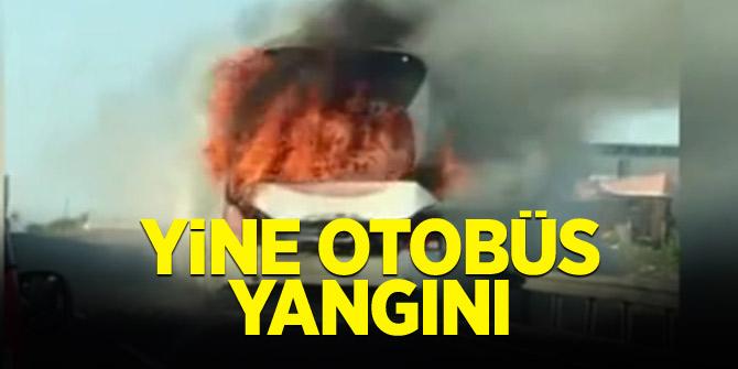 Bir otobüs yangını daha!
