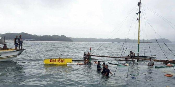 Filipinler'de tekne kazası: 25 ölü