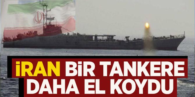 İran yakıt tankerine el koydu