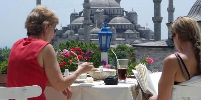 Turistlerin ilk 6 ay harcaması
