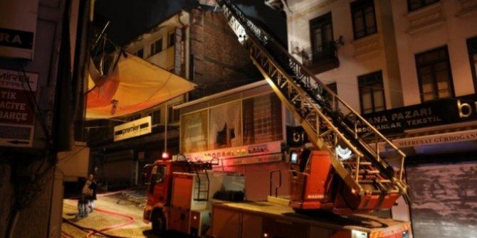 Ankara'nın Çankaya ilçesindeki otelde yangın paniği