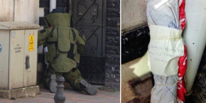 Çuval içinde el bombaları ve lav silahı bulundu