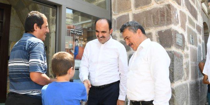 Konya Büyükşehir Belediye Başkanı Uğur İbrahim Altay, Seydişehir'de çeşitli ziyaretlerde yaptı.