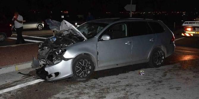 Konya'da feci kaza: Biri bebek 9 kişi yaralandı