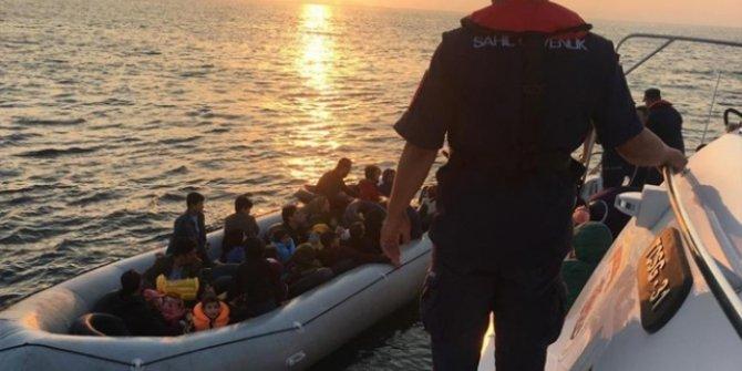 Çanakkale'de 32 düzensiz göçmen yakalandı