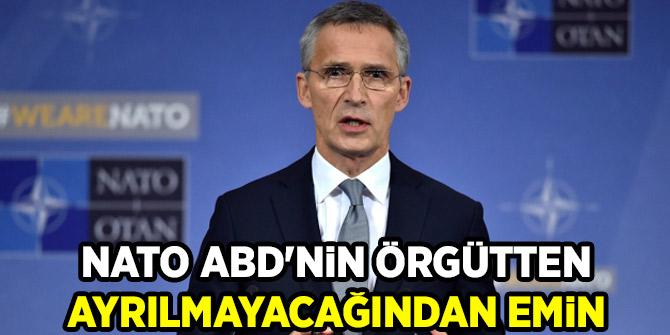 NATO ABD'nin örgütten ayrılmayacağından emin