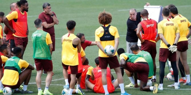 Galatasaray Süper Kupa maçına hazır