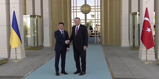 Ukrayna lideri Zelenskiy ilk kez Türkiye'ye geldi