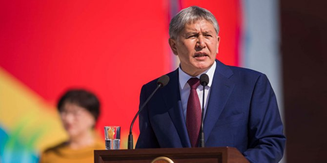Atambayev'i tutuklamak için operasyon düzenlendi