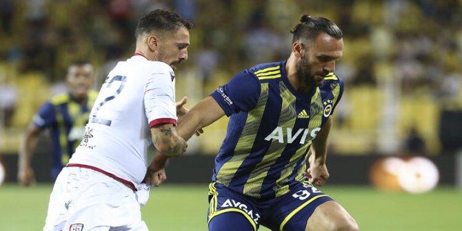Fenerbahçe İtalyan takımı Cagliari ile berabere kaldı