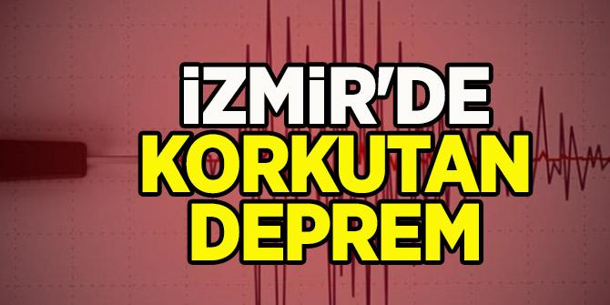 İzmir Seferihisar açıklarında korkutan deprem!