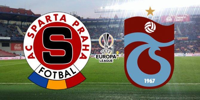 Sparta Prag - Trabzonspor maçına ilişkin müjde geldi