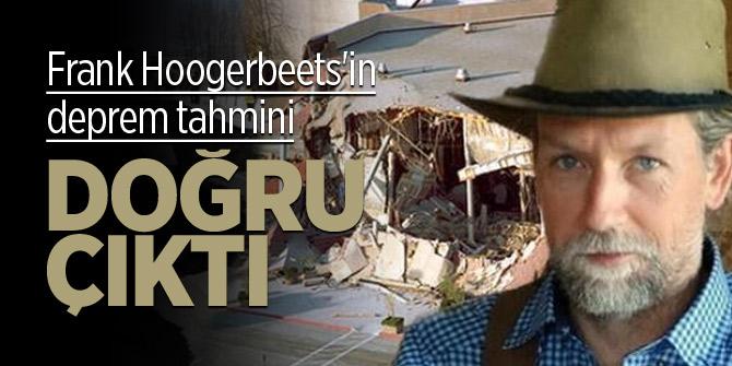 Frank Hoogerbeets'in deprem tahmini doğru çıktı