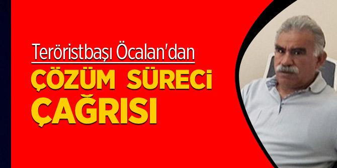 Teröristbaşı Öcalan'dan 2. çözüm süreci çağrısı