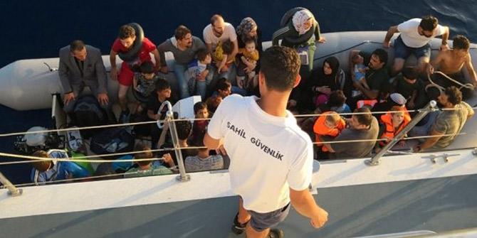 Didim'de çok sayıda göçmen yakalandı