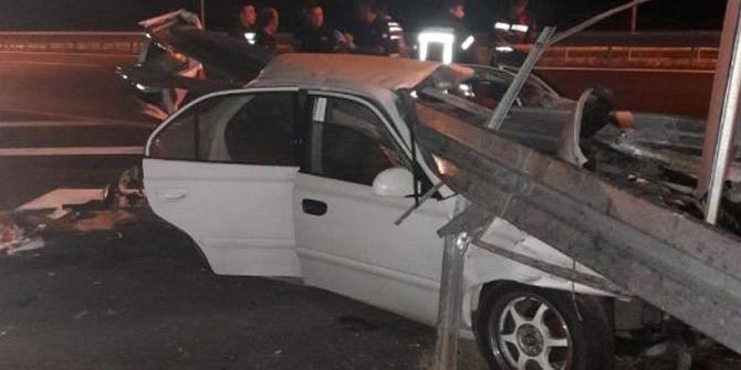 İzmir-İstanbul Otoyolu'nda feci kaza! 3 ölü 2 yaralı