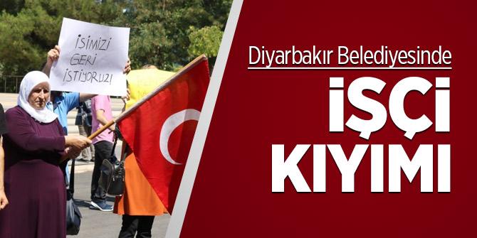 Diyarbakır Belediyesinde işçi kıyımı