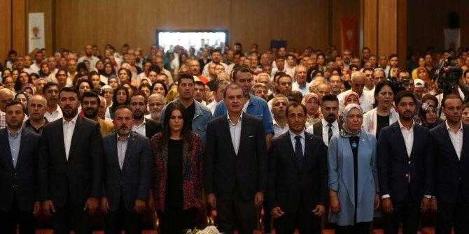 AK Parti Sözcüsü Ömer Çelik Adana'daydı