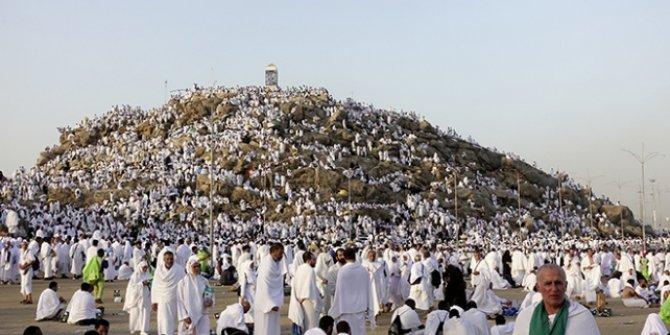 Hacı adayları Arafat'a ulaştı!
