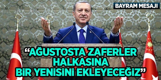 Cumhurbaşkanı Erdoğan'dan bayram mesajı (Dikkat çeken mesaj)