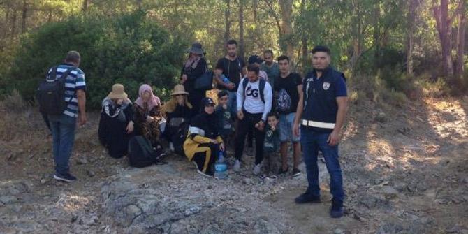 Datça'da göçmen kaçakçılığı jandarmaya takıldı