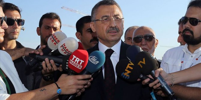 Fuat Oktay: Akdeniz'deki sondaj çalışmaları kararlılıkla devam edecek