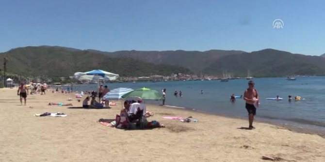 Göstergeler 46'yı gösterdi plajlar bile boş kaldı