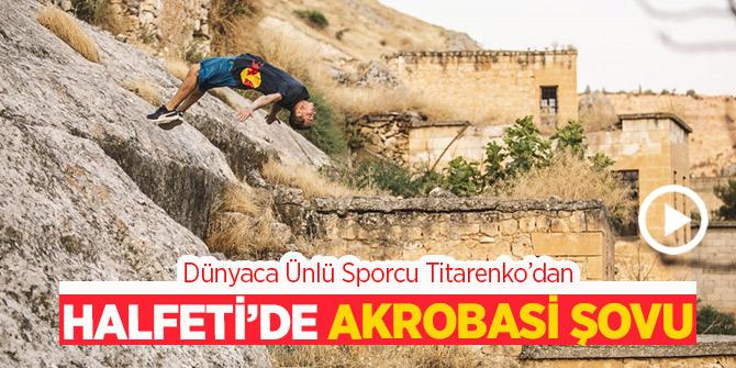 Halfeti'de Akrobasi Şovu