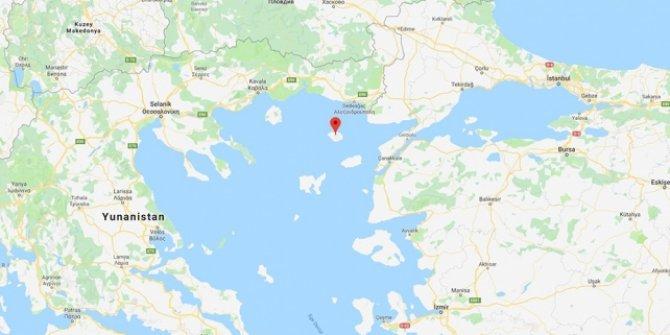 Yunanistan'ın Semadirek Adası'nda binin üzerinde turist mahsur kaldı
