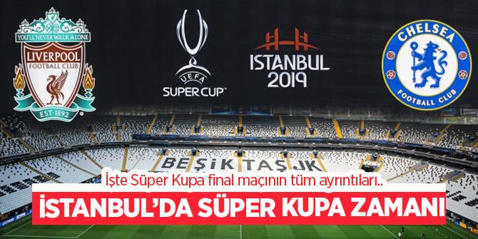 Süper Kupa final maçı bu akşam Beşiktaş Park'ta! İşte tüm ayrıntılar