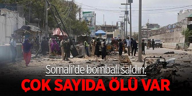 Somali'de bombalı saldırı: Çok sayıda ölü var
