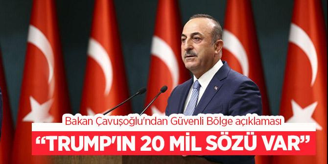 """Çavuşoğlu'ndan Güvenli Bölge açıklaması! Detaylandırılması gereken çok konu var."""""""