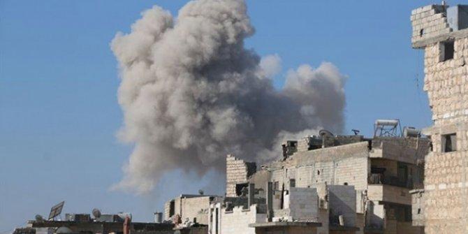 İdlib'e hava saldırıları: 10 ölü