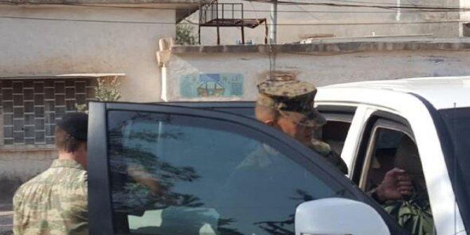 ABD ve Türk askerleri sınırda inceleme yaptı
