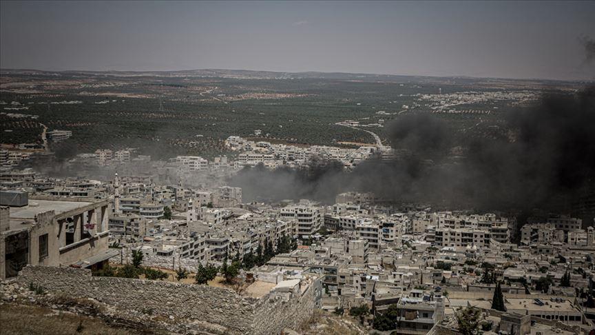 Esed rejiimi İdlib'te hava saldırılarına devam ediyor!