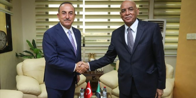 Dışişleri Bakanı Mevlüt Çavuşoğlu Sudan'da