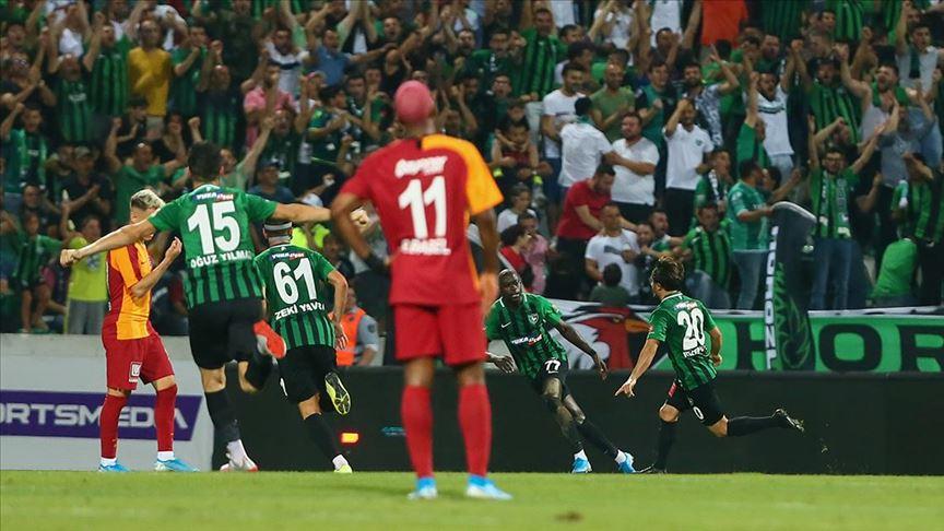 Galatasaray'a Denizli'de büyük şok! Galatasaray Denizlispor maç özeti ve golleri izle
