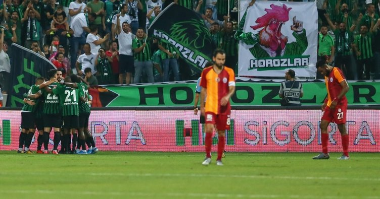 Galatasaray 7 sezon sonra Lig'e mağlubiyet ile başladı!