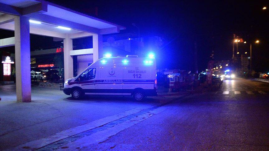 Kilis'te askeri araç devrildi: 8 yaralı