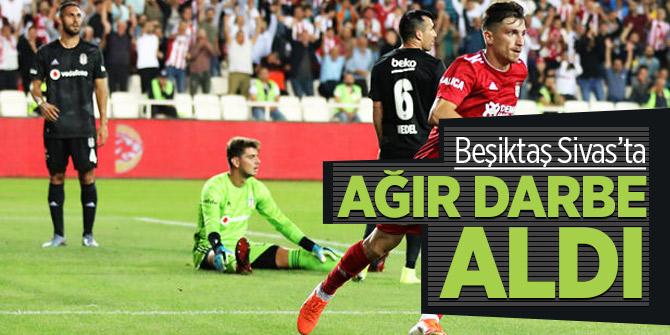 Beşiktaş Sivas'ta kayıp! Demir Grup Sivasspor büyük fark attı