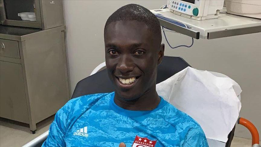 Beşiktaş maçında hastaneye kaldırılan Samassa taburcu edildi