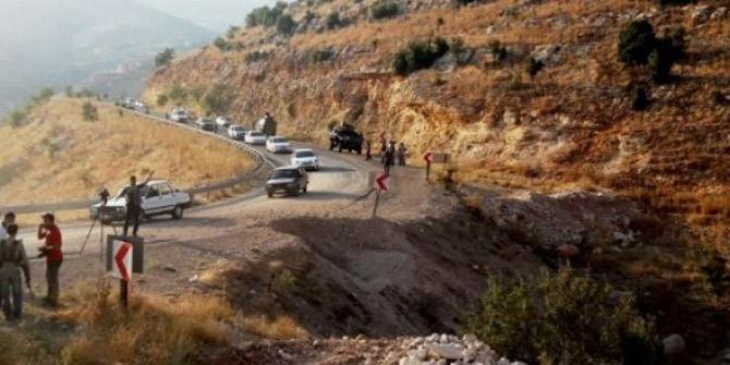 Şemdinli'de sivil aracın geçişi sırasında patlama oldu