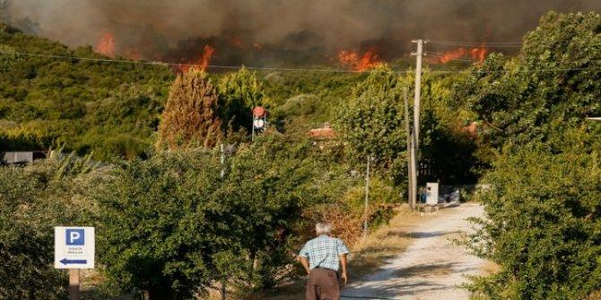 Muğla ve İzmir'de korkutan yangınlar!