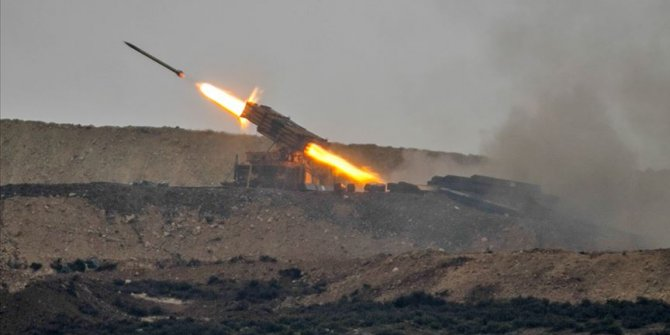 TSK Tel Rıfat'taki terör hedeflerini vurdu